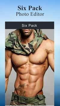 Six Pack Photo Editor apk screenshot
