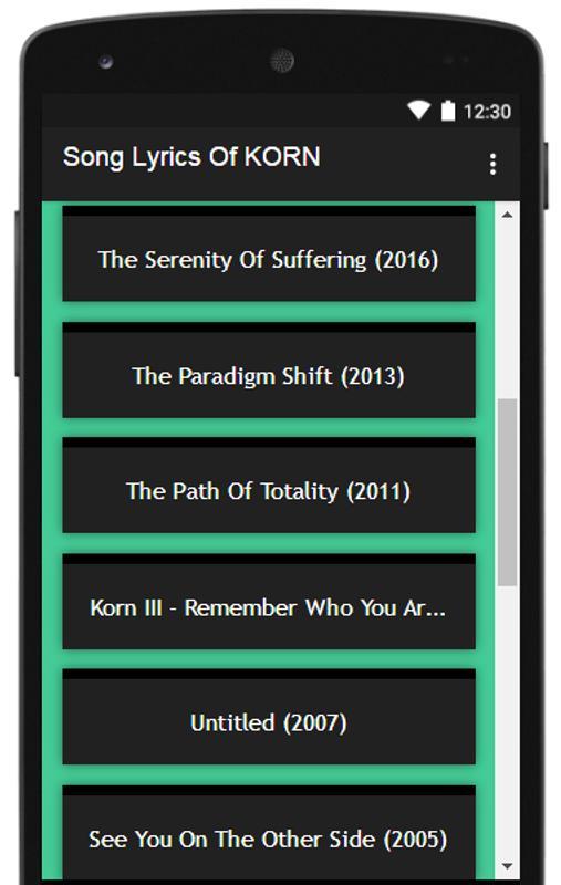 korn the paradigm shift album download
