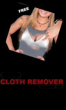 girls cloth remove simulator poster