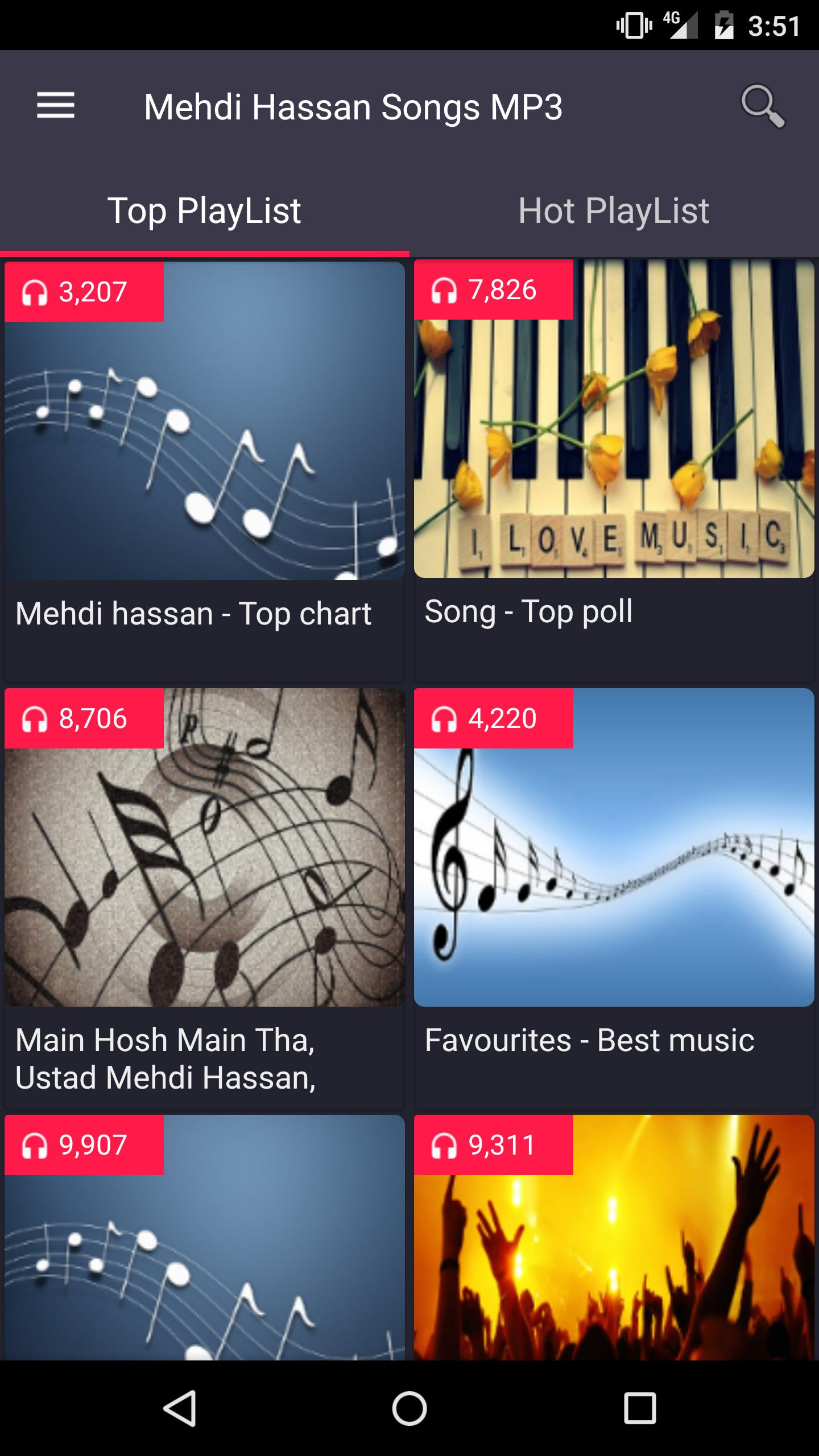 Mehdi Hassan Songs MP3 for Android - APK Download