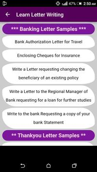 Learn English Letter Writing With 2000 Examples For Android Apk