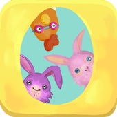 Bunny and Chicken Easter game icon