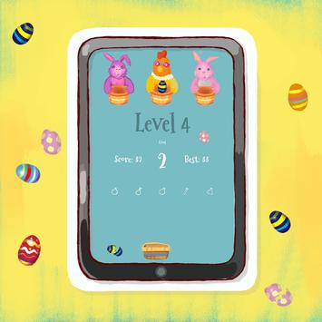 Bunny and Chicken Easter game screenshot 2