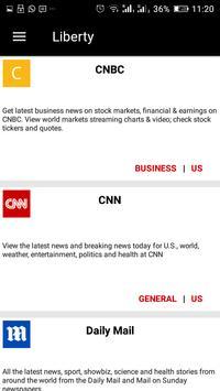 LIBERTY - World News Knowledge Bias Huff Article screenshot 2