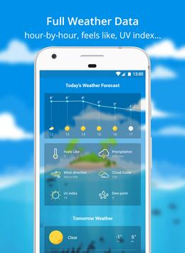 Weather Wiz: Forecast & Widget تصوير الشاشة 3