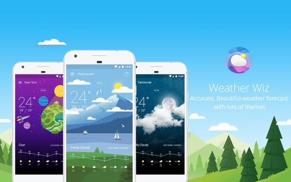 Weather Wiz: Forecast & Widget الملصق