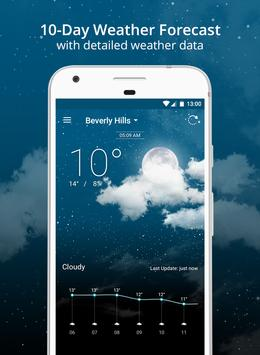 Weather Wiz: Forecast & Widget تصوير الشاشة 1