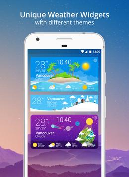 Weather Wiz: Forecast & Widget تصوير الشاشة 6