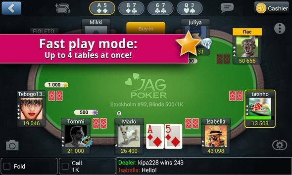 Jag Poker HD apk screenshot