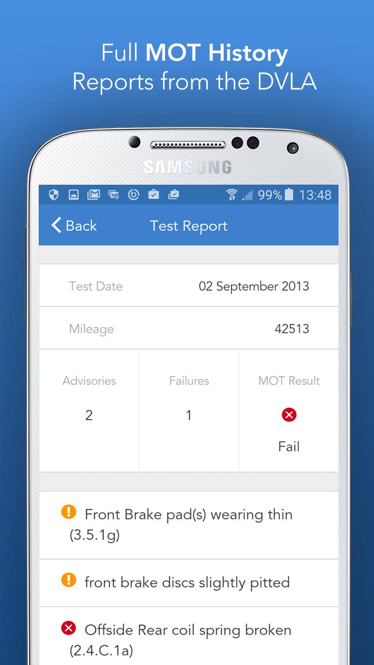 Free Car History Report >> Vehicle Specs Free Car Check For Android Apk Download