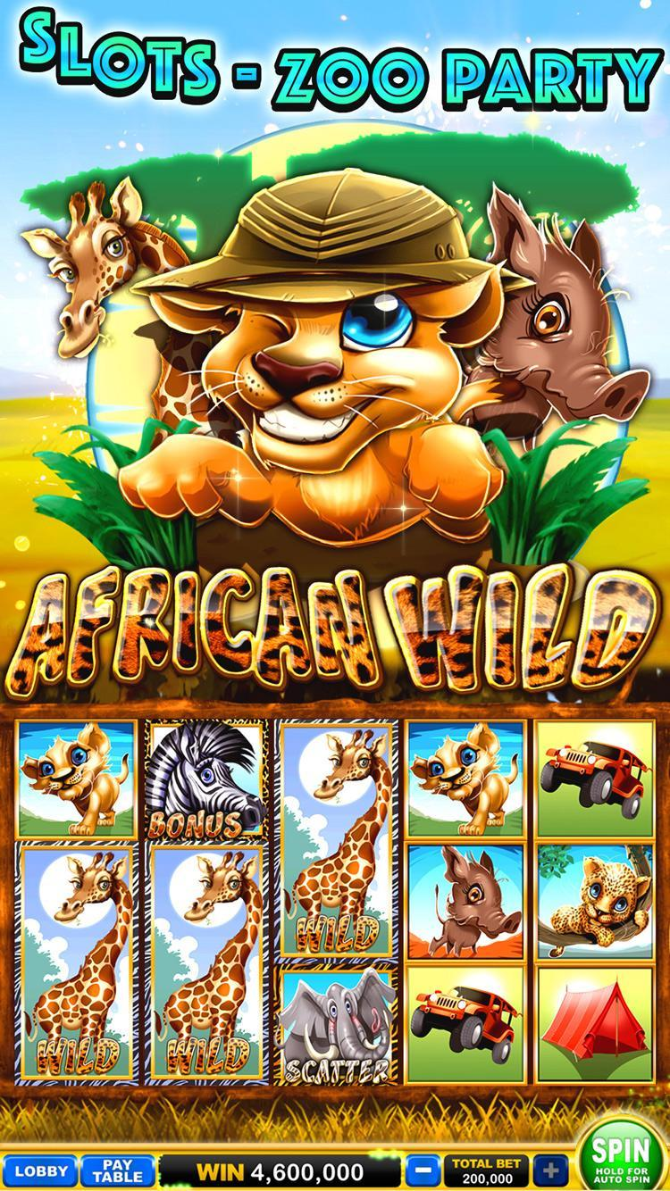 Slots - Zoo Party poster