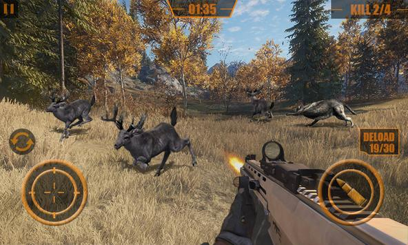 Animal Hunter Forest Sniper Shoot 3D постер