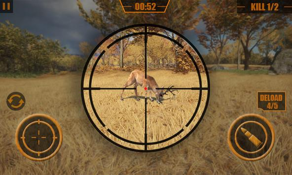 Animal Hunter Forest Sniper Shoot 3D скриншот 3