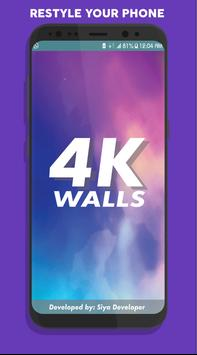 4K WALLS (HD WALLPAPERS) poster