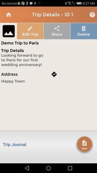 Travel Budget Event Journal-L screenshot 1
