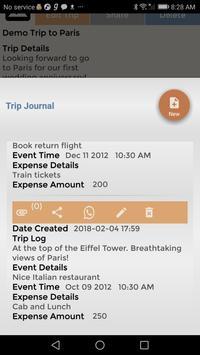 Travel Budget Event Journal-L screenshot 2
