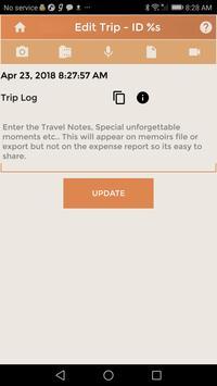 Travel Budget Event Journal-L screenshot 3