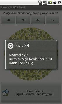 Color Blindness Test apk screenshot