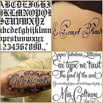 Tattoo Lettering Style Ideas Apk Screenshot
