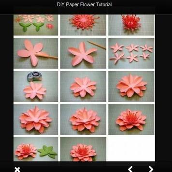 Diy paper flower tutorial apk download free lifestyle app for diy paper flower tutorial apk screenshot mightylinksfo