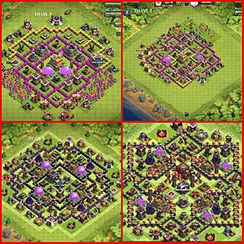 Top Maps for Clash of Clans apk screenshot