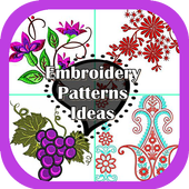 Embroidery Pattern Design icon