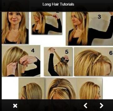 Easy Long Hair Tutorials apk screenshot