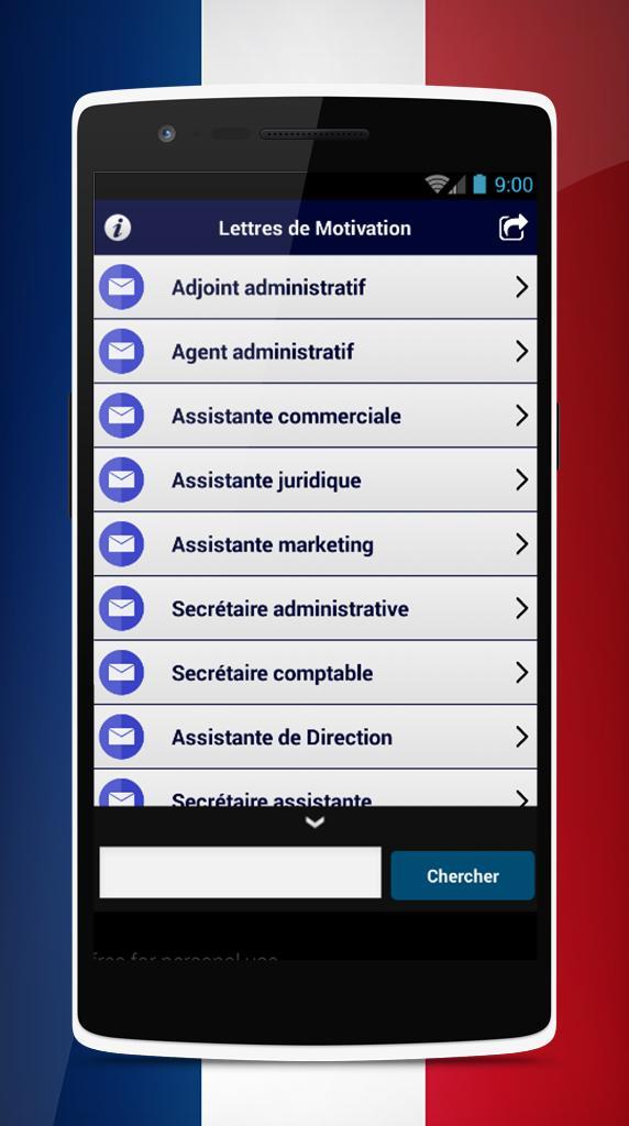 Lettre De Motivation Modèles For Android Apk Download