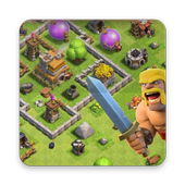 Maps of Clash of Clans CoC icon