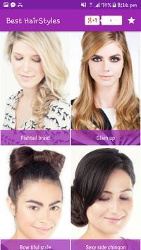 Best & Easy Hairstyles step by step 2017 screenshot 4