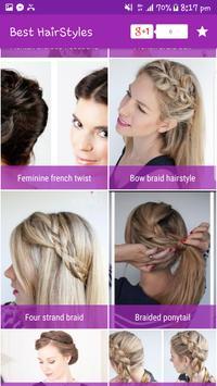 Best & Easy Hairstyles step by step 2017 screenshot 6