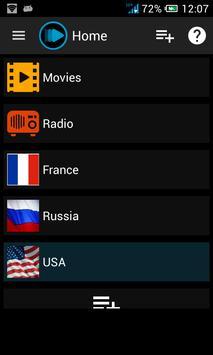 m3u Streams Pro, custom live TV and radio player poster