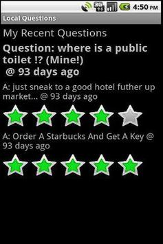 Local Questions and Answers apk screenshot