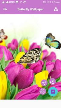 Butterfly Wallpaper screenshot 2