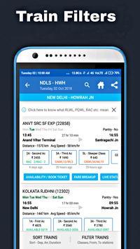 Indian Train Live Status - PNR, Seat Live Enquiry screenshot 5
