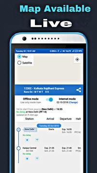 Indian Train Live Status - PNR, Seat Live Enquiry screenshot 3