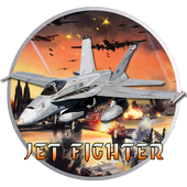 Fly F18 Jet Fighter Airplane Free Game Attack 3D icon