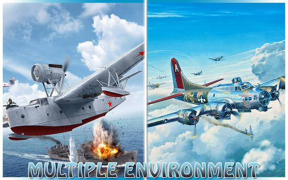 Fly F18 Jet Fighter Airplane Free Game Attack 3D screenshot 7