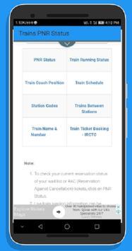 Indian Train PNR Status screenshot 2