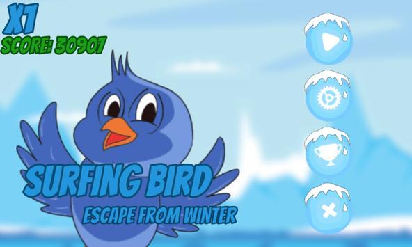Surfing Bird: Escaping Winter poster
