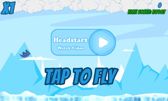 Surfing Bird: Escaping Winter apk screenshot