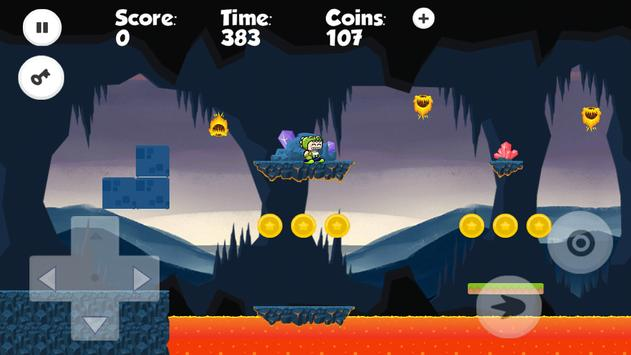 King Croco - Jungle Adventures apk screenshot