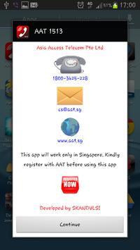 AAT 1513 dialer apk screenshot