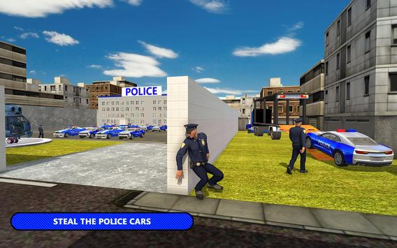 US Police Car Transporter Cruise Ship Simulator poster