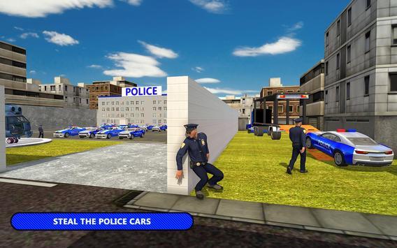 US Police Car Transporter Cruise Ship Simulator screenshot 5