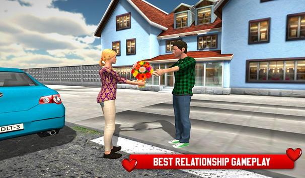 Virtual Girlfriend High School Life Simulator 3D screenshot 1