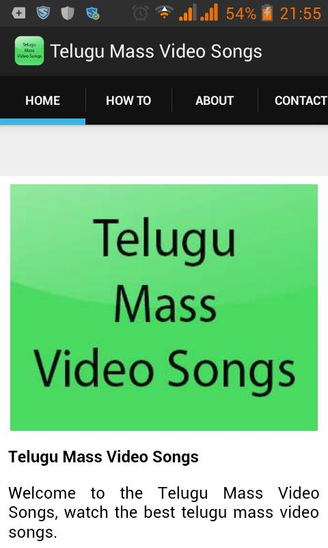 Telugu Mass Video Songs for Android - APK Download