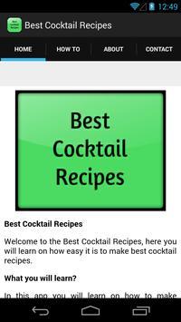 Best Cocktail Recipes screenshot 1