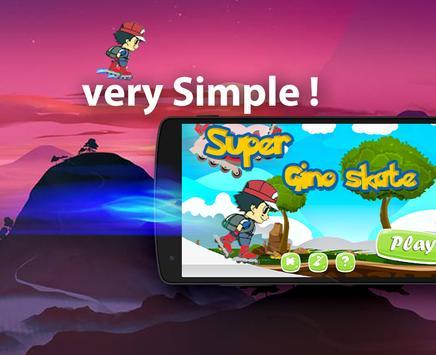 Super Gino Skate apk screenshot