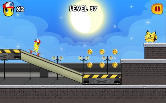 Monster Skater GO apk screenshot